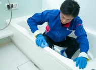浴室クリーニング
